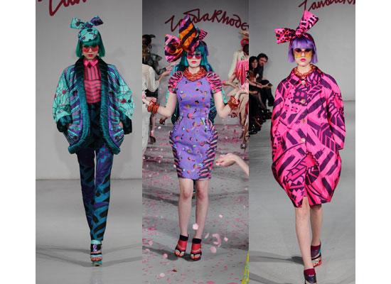 Zandra rhodes fashion designer 4