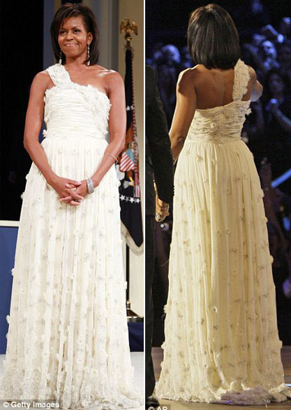 Fashion Flashback Michelle Obamas 2008 Inaugural Gown