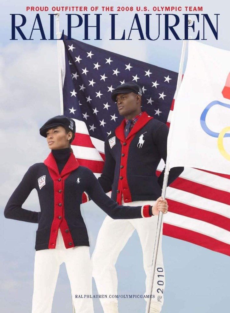 Oraine Barrett for Ralph Lauren 2010 Winter Olympics