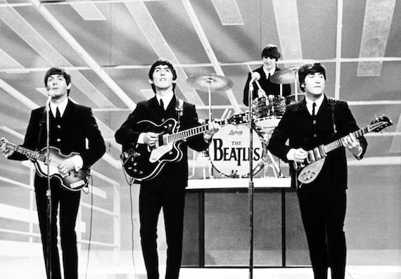 """The Beatles on the """"Ed Sullivan Show"""" in 1967. Image courtesy of google.com"""