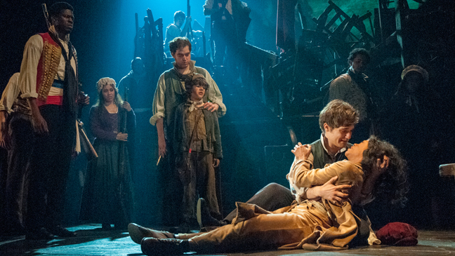"""Scene from """"Les Miserables"""", photo by Michael Le Poer Trench, courtesy """"Les Miserables"""""""