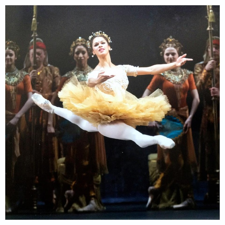 "Misty Copleand in ""La Bayadere."" Image courtesy of pin interest.com"