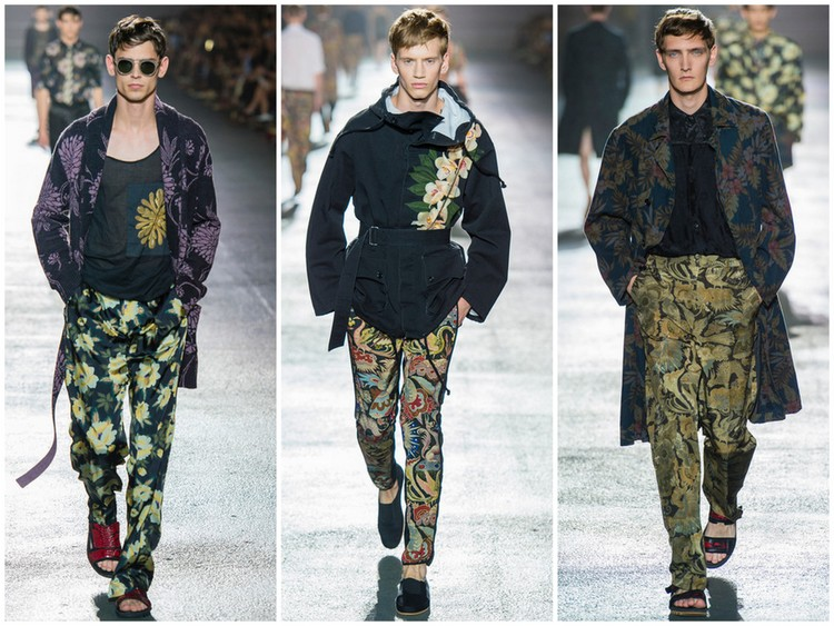 Dries van Noten SS14 images courtesy of style.com