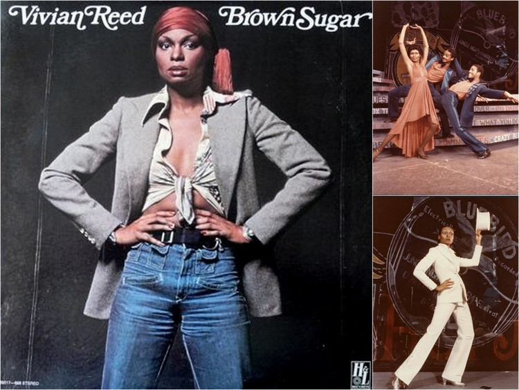 "Vivian Reed in ""Bubbling Brown Sugar."" Images courtesy of Ashton Springer"