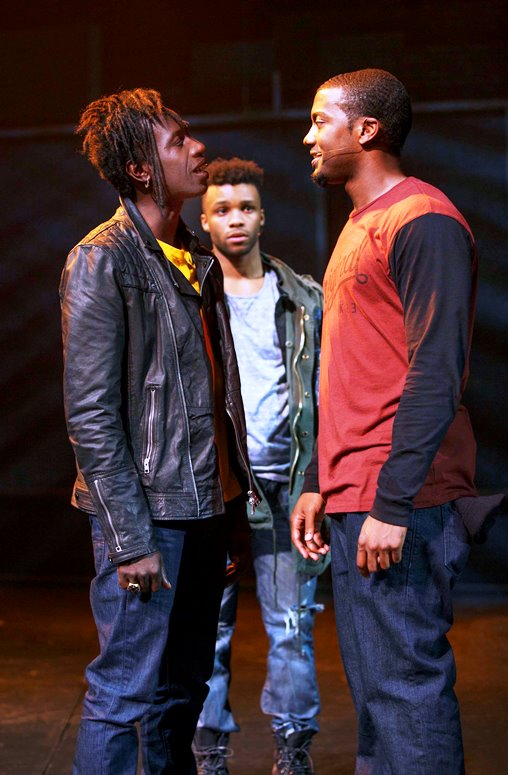 Saul Williams, Dyllon Burnside and Joshua Boone