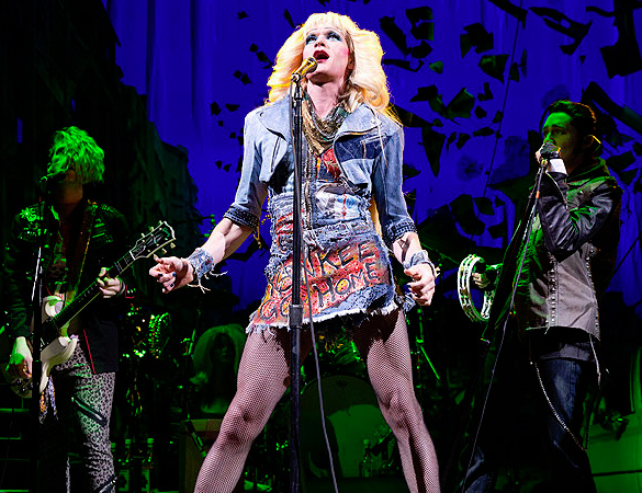 "Neil Patrick Harris as Hedwwig photo: Photo by Joan Marcus, Courtesy ""Hedwig and the Angry Inch"""
