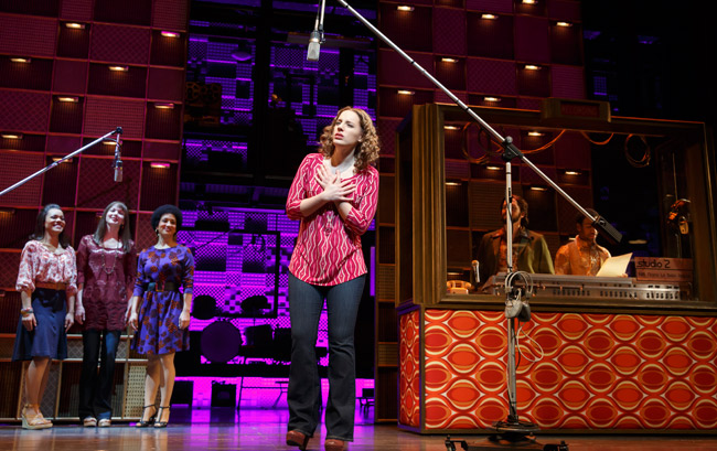 "Jessie Mueller photo: Photo by Joan Marcus, Courtesy ""Beautiful: The Carole King Musical"""