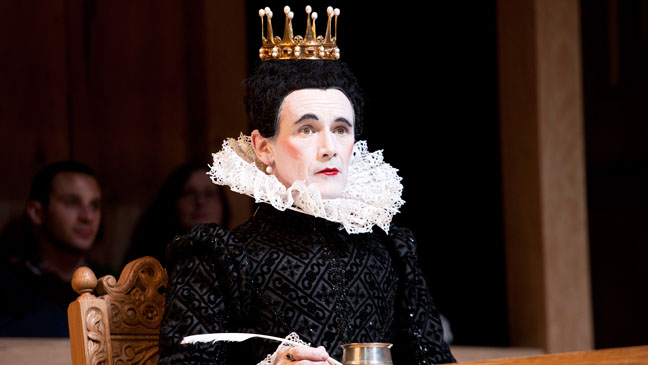 Mark Rylance photo: Courtesy Shakespeare Globe