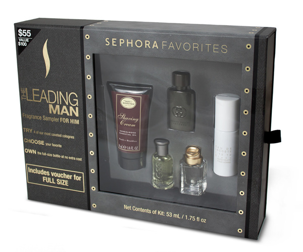 "Sephora ""Leading Man"" sampler image courtesy of sephora.com"
