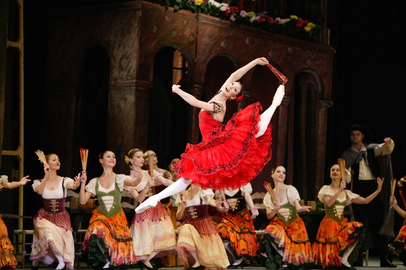 "Bolshoi Ballet's ""Don Quixote. All images courtesy of Lincoln Center Festival"