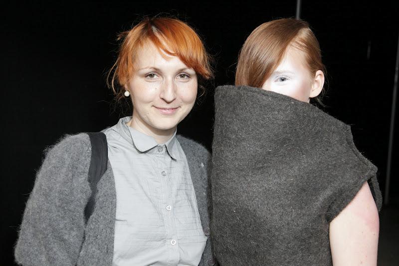 Aleksandra Lalic and model image courtesy of Peter Stigter