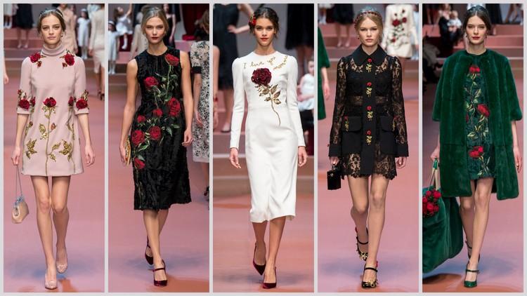 Dolce & Gabbana images courtesy of style.com