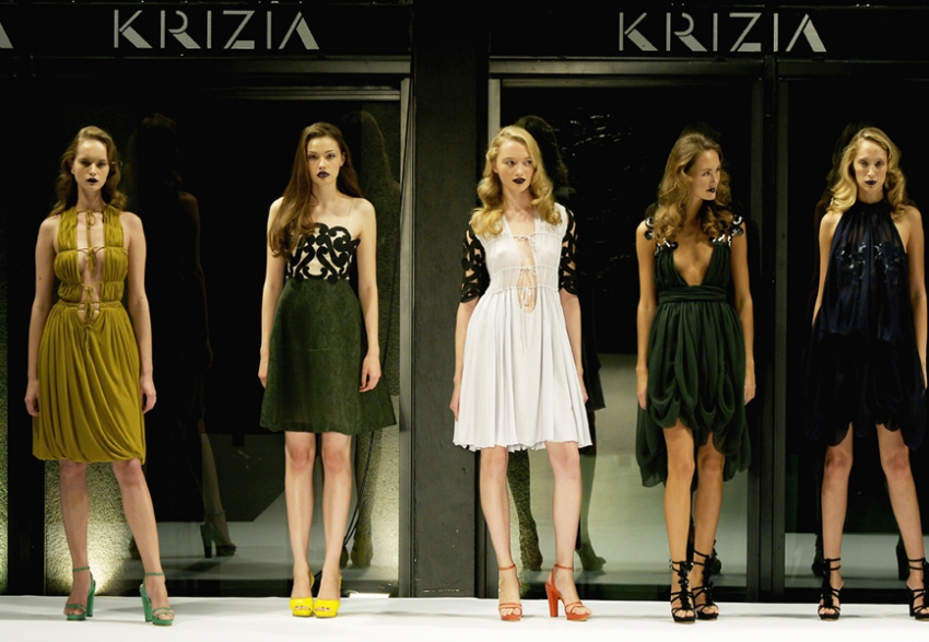Krizia spring 2015 by