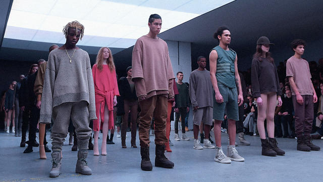 Kanye West Fashion Line Website