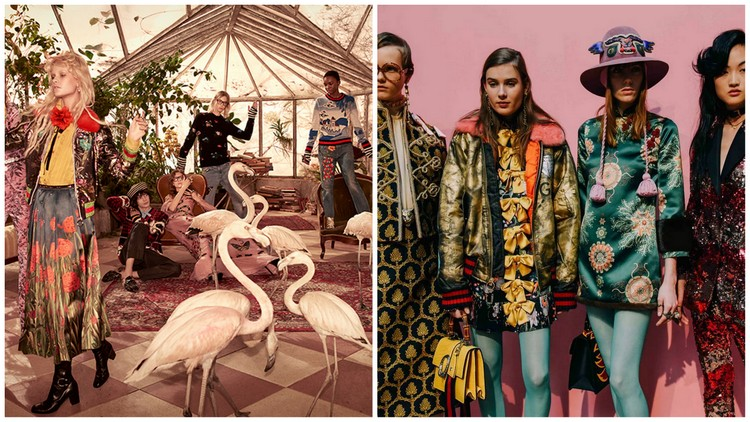 Gucci Pre-fall and fall 2016 images courtesy of youtube.com
