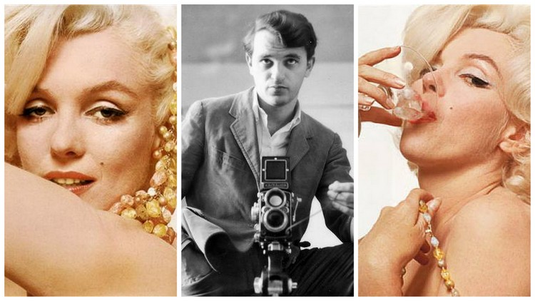 Images of Bert Stern and Marilyn Monroe courtesy of flickr.com