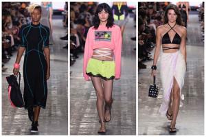 Alexander Wang spring 2017 images courtesy of fashiongonerogue.com