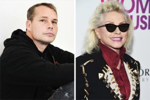 Debbie Harry and Shepard Fairey images courtesy of yahoo.com
