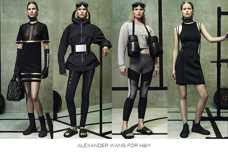 Alexander Wang/H&M image courtesy of magazinehorse.com