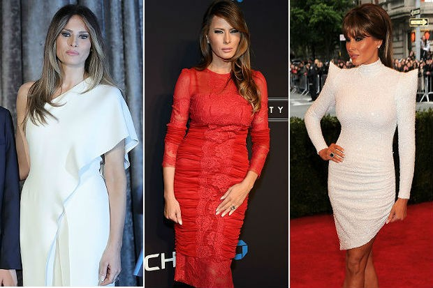 Melania Trump images courtesy of celebuzz.com