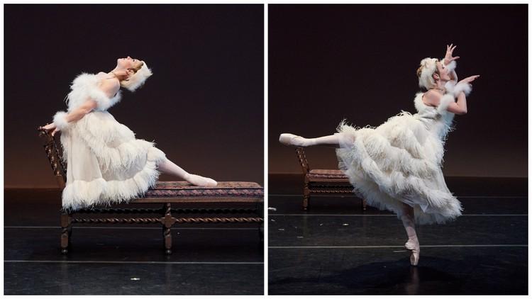 """Elena Zahlmann in NYTB's """"La Chatte Metamorphosee en Femme"""""""