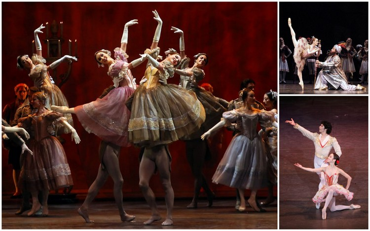 "Images from ABT productions of ""Eugene Onegin,"" and ""Don Quixote"""