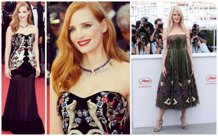 Images of Jessica Chastain and Nicole Kidman courtesy of associatedreporters.com