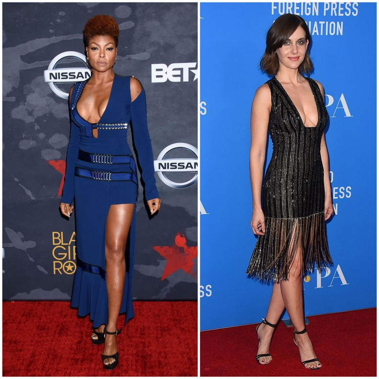 Images of Taraji Henson and Alison Brie courtesy of celebritymafia.com and instyle.com, respectively