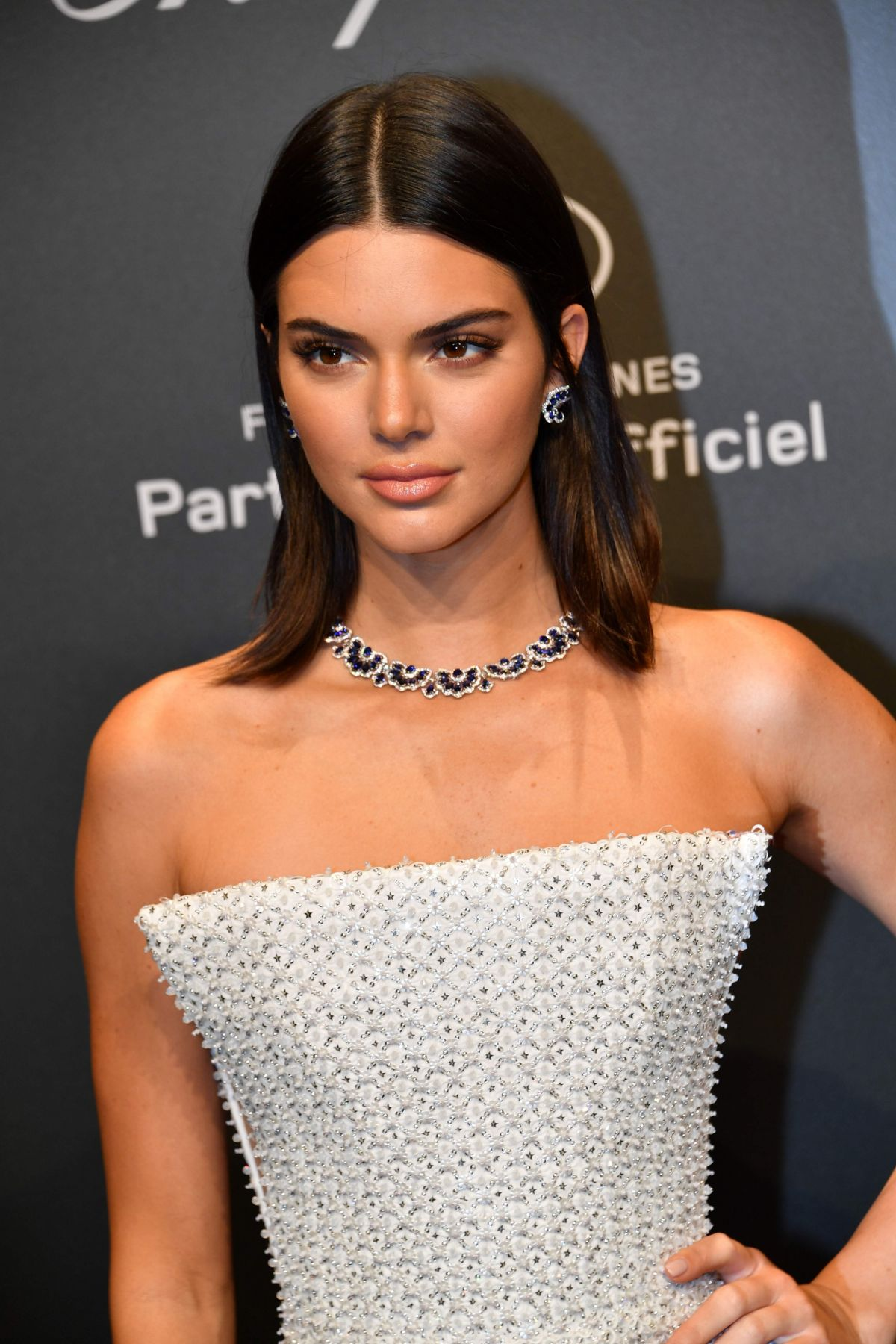 Kendall Jenner at the 2017 Cannes Film Festival. Image courtesy of hawtcelebs.com