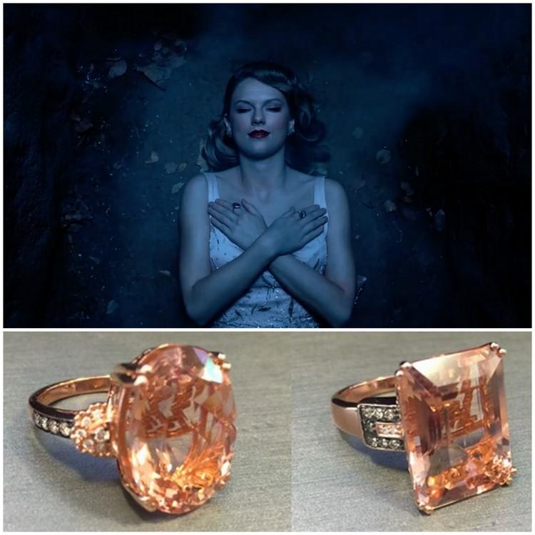 Le Vian morganite and diamond rings