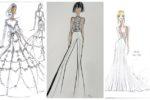 New York International Bridal Week Fall 2018 Sketches