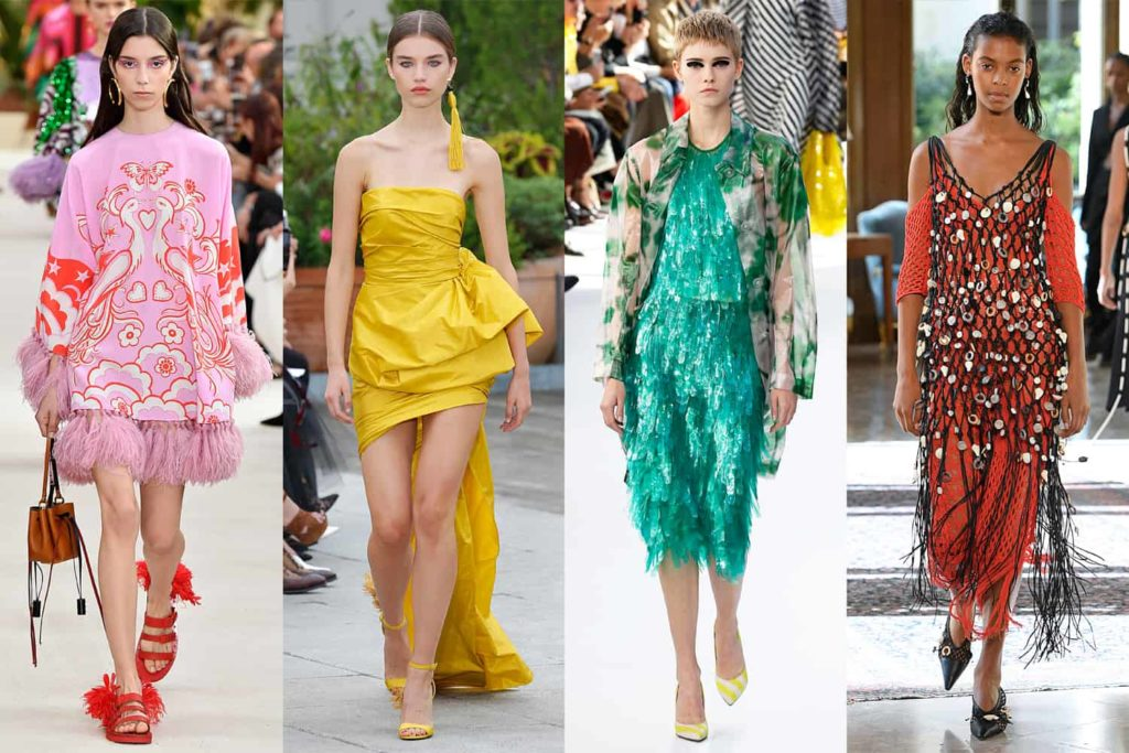 Spring 2019 Trends From New York Paris London And Milan Fashion Weeks